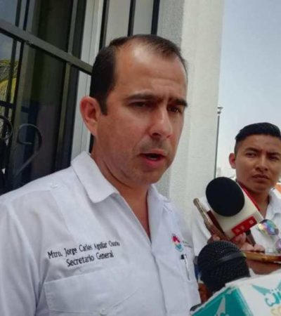 """""""NECESITAMOS UN CONGRESO PROFESIONAL"""": Ante crisis en nueva legislatura, Jorge Aguilar asevera que Quintana Roo requiere 'gente que razone'"""