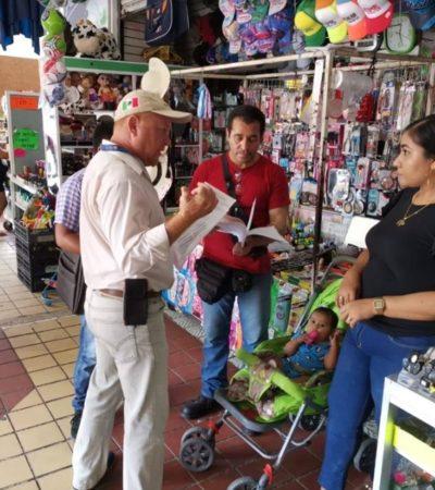 Dan autoridades ultimátum a locatarios del mercado Altamirano para que desalojen pasillos o procederán con uso de la fuerza pública