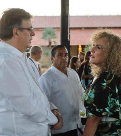 ENCUENTRO EN MÉRIDA: Se reúne Luz María Beristain con Marcelo Ebrard para afinar detalles del evento en Playa del Carmen donde presentarán el programa de promoción turística 2020