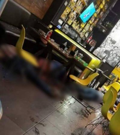 VIDEO | Otro ataque armado… ahora matan a cuatro personas y hieren a dos en bar de Uruapan (18+)