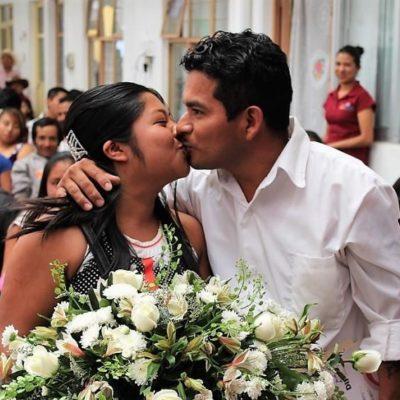 Quintana Roo es el estado con mayor tasa de matrimonios según encuesta de INEGI