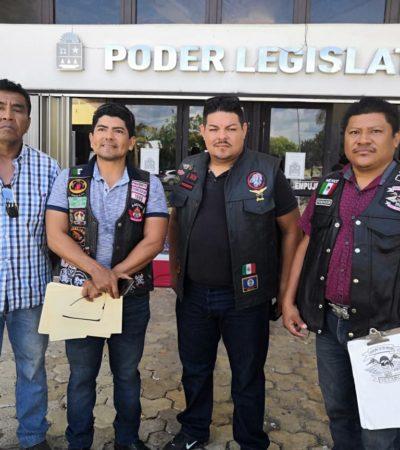 ¡A CHALECO, NO!: Motociclistas se pronuncian contra 'Ley Chaleco' que impulsa Capella como medida contra la inseguridad