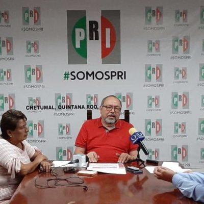 Dirigencia estatal del PRI critica recorte presupuestal de la federación y advierte que apoyarán movilizaciones