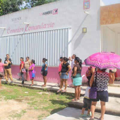 Madres en Felipe Carrillo Puerto inician plantón en escuela, en exigencia de aulas