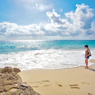 PLAYAS DESPEJADAS DE SARGAZO, POR AHORA: Atribuyen a ciclones y enfriamiento del mar que costas de QR luzcan libres de la macro alga
