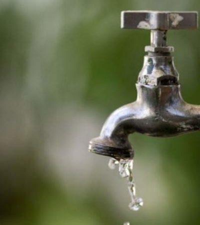 Quedarán sin agua potable más de 100 colonias de Mérida durante este miércoles