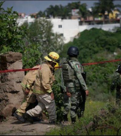 Concluye búsqueda de restos humanos en pozo de Zapopan; 119 bolsas con incierto número de cuerpos