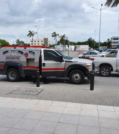Dejan guardias de valores olvidada pistola en centro comercial de Playa