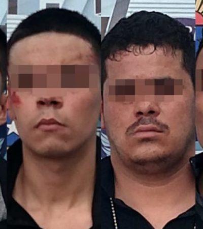 IMPIDEN SECUESTRO EN CANCÚN: Tras persecución, detienen a 4 hombres fuertemente armados en la Región 212