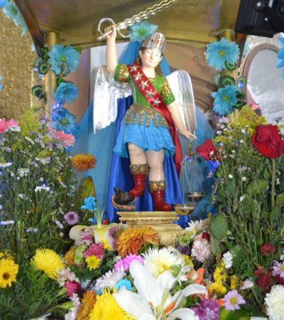 Todo listo para festejar al santo patrono de Cozumel