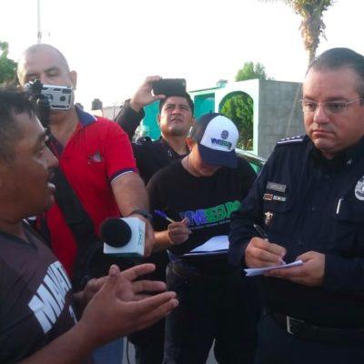 """RECORRIDO EN CHETUMAL: Destruyen grupos delictivos cámaras de seguridad, pero advierte Capella que pondrán 100 más """"a ver quien se cansa primero"""""""