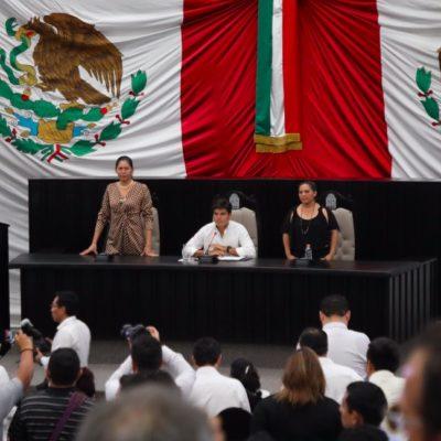 REGRESA LA LEGALIDAD AL CONGRESO: Reponen proceso de instalación de la XVI Legislatura y constituyen la Jucopo