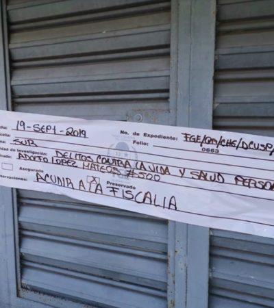 Clausuran guardería tras fallecimiento de bebé en Chetumal