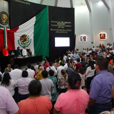 """""""ES MOMENTO DE HACER A UN LADO CUALQUIER DIFERENCIA"""": Llama Congreso a unirse para recuperar la paz y la seguridad en Quintana Roo"""