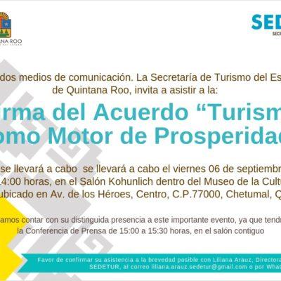 Gobernadores panistas firmarán acuerdo turístico en Quintana Roo aprovechando su asistencia al Tercer Informe de Carlos Joaquín