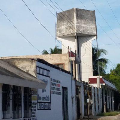 Considera CAPA la demolición de tanques elevados que están en desuso en José María Morelos