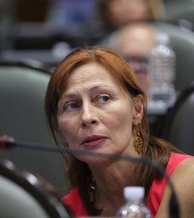 Cuestiona Tatiana Clouthier capacidad de Laura Rojas al frente de la Mesa Directiva de la Cámara de Diputados