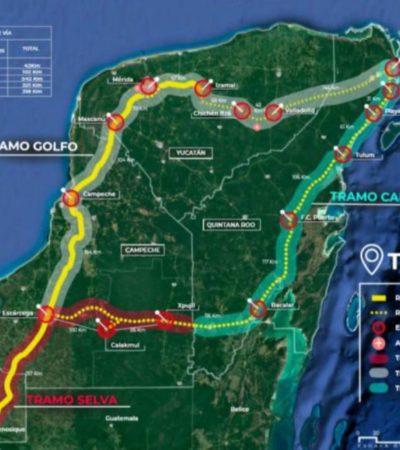Fonatur contempla la expropiación de terrenos para la ruta del Tren Maya, ante resistencia de ejidatarios