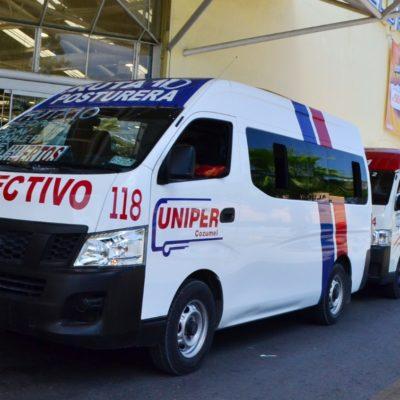 Amagan choferes de Uniper en Cozumel con paro en reclamo por aumento de tarifas
