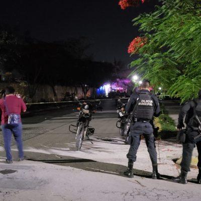 Hallan cuerpo encintado y amordazado en el fraccionamiento Barrio Maya de Cancún