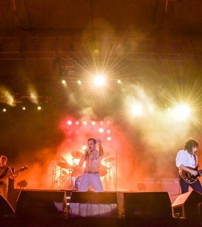 FREDDIE MERCURY Y QUEEN EN TULUM: Realizan exitoso concierto en homenaje a la banda de rock británica
