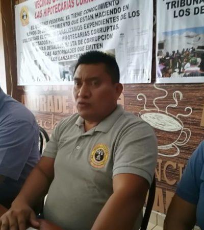 """Logra """"Vecinos Unidos en contra de Hipotecarias Corruptas"""" que el gobierno federal revise 55 casos de fraude en Playa del Carmen"""