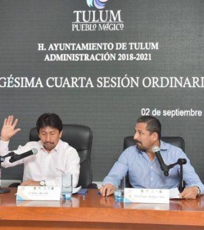 Aprueba cabildo Reglamento de Imagen y Paisaje Urbano de Tulum