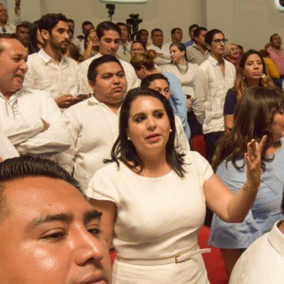 """SENADORA VS SENADORA: Critica Mayuli Martínez a Marybel Villegas por escándalo en el Congreso; """"basta de doble moral y falta de respeto a los quintanarroenses"""", dice"""