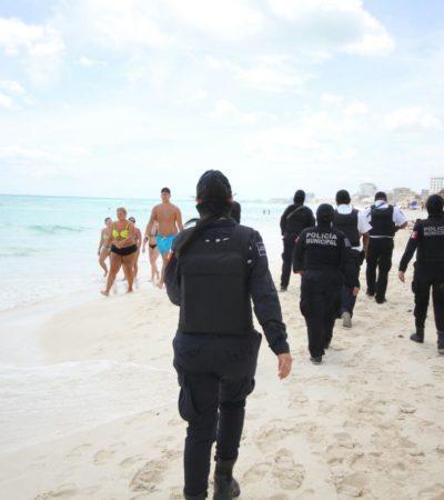 Encuentran un hombre ahogado en la playa del Mirador del Rey de Cancún