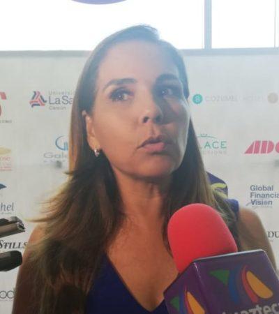 """""""NO NOS TOCÓ EL MEJOR AÑO"""": Reconoce Mara Lezama que los primeros 12 meses de su gobierno fueron complicados por la inseguridad, sargazo y falta de promoción turística"""