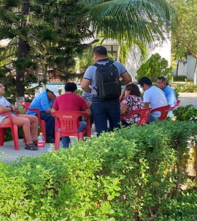 PARO TOTAL EN LOS 9 CECYTE DE QR: Protestan ante el incumplimiento del gobierno federal del pago de aguinaldos y otros estímulos a maestros