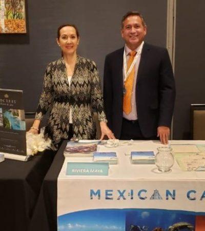 Hoteleros de la Riviera Maya se reúnen con 350 agentes de viaje en la caravana turística en EU