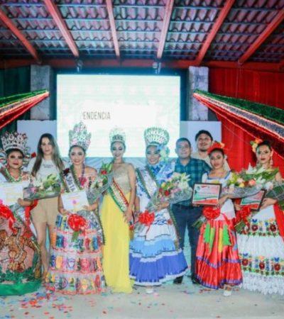 """Eligen a la """"Señorita Independencia"""" para la celebración de las Fiestas Patrias en Tulum"""