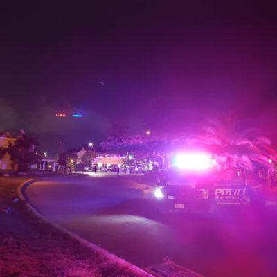 Fallece en el hospital uno de los dos lesionados a balazos ayer en la Región 76 de Cancún