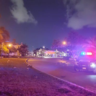 TRES ATAQUES A BALAZOS LA NOCHE DEL LUNES EN CANCÚN: Reportes de disparos en las SM 524, 76 y 229 movilizaron a la policía y dejaron 4 heridos