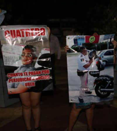 Piden operadores de Uber a Gobernador que acate amparo para operar en Cancún