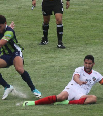 SORPRENDEN AL INTER PLAYA DEL CARMEN EN CASA: Derrota Coyotes de Tlaxcala 0-2 al equipo de Solidaridad, ante un ambiente de fiesta y una gran entrada en el estadio 'Mario Villanueva Madrid'
