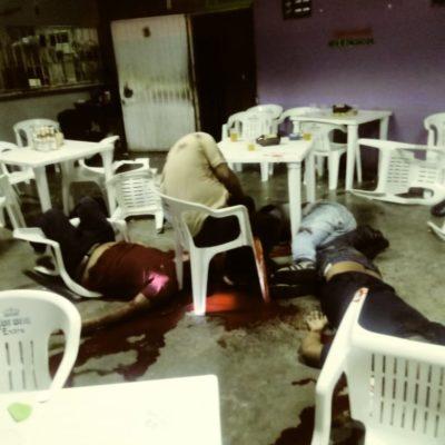 ATACAN BAR EN TABASCO PREVIO AL GRITO: Saldo de al menos cinco muertos en la comunidad de Luis Gil Pérez