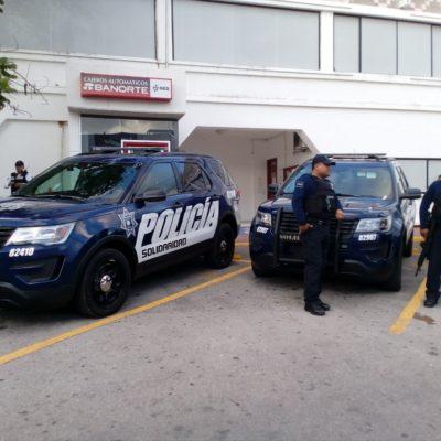 Aumentan presencia policiaca en Playa del Carmen con 35 patrullas y 10 motocicletas