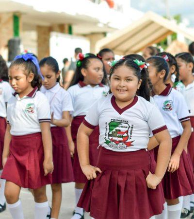 Califican de exitosas los festejos patrios en Tulum