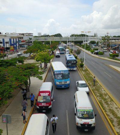 """Urvans de transporte público serían desplazadas de las calles de Cancún: """"queremos que un solo motor transporte a 40 personas"""", dice Jorge Aguilar"""