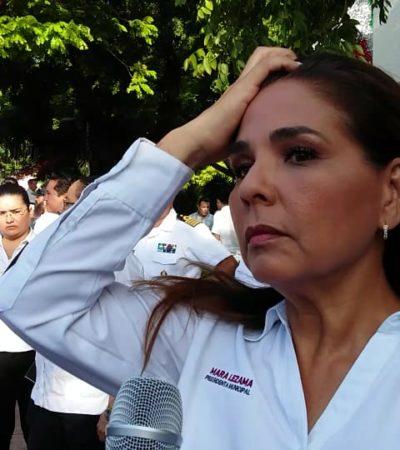 Niega Mara Lezama haber intervenido en la redistribución de comisiones del Congreso, pese a que fuentes extraoficiales confirmaron su presencia en el recinto legislativo hasta cerca de la medianoche