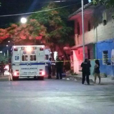 Atacan a dos a balazos en la colonia Ejidal de Playa del Carmen; uno muere