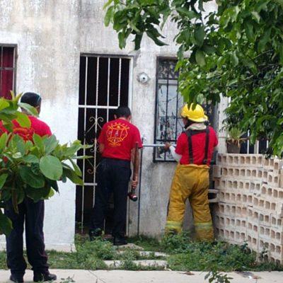 Hallan cadáver en estado de descomposición en una vivienda del fraccionamiento Galaxias del Sol en Cancún