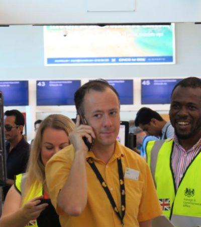 LOGRAN REPATRIAR A PASAJEROS AFECTADOS TRAS LA QUIEBRA DE 'THOMAS COOK': Tras horas de incertidumbre, turistas varados en Cancún empiezan a retornar a Inglaterra