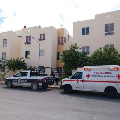 Encuentran cadáver ensabanado en un departamento del fraccionamiento Paseos del Mar en Cancún