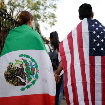 Soliciten que México sea un estado más de EU, propone aspirante republicano a migrantes