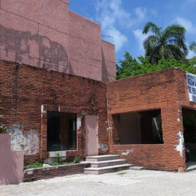 Después de casi 15 años de abandono, esperan que propietarios del club 'La Boom' tengan nuevos proyectos en el terreno según las modificaciones del PDU en Cancún