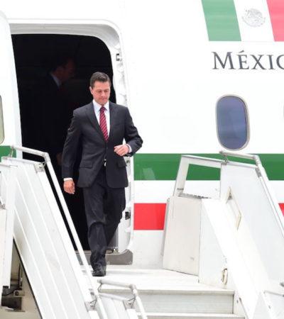 Pagó Peña Nieto 7 millones por servicio de internet en un solo vuelo del avión presidencial