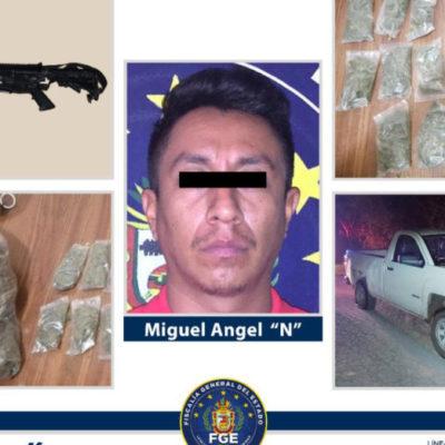 Detienen al presunto asesino del camarógrafo Erick Castillo Sánchez asesinado en Acapulco